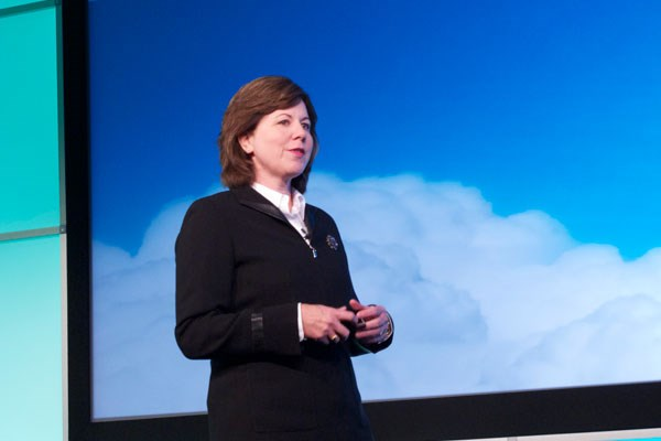 Adrienne Hall, Microsoft talks the cloud