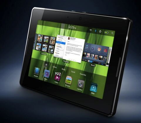 Research of top three tablets deems PlayBook best for BYOD