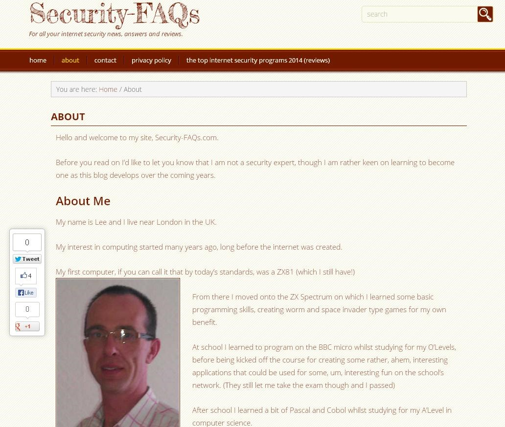Security FAQs website to close this year