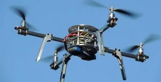 Flying drone steals smartphone contents