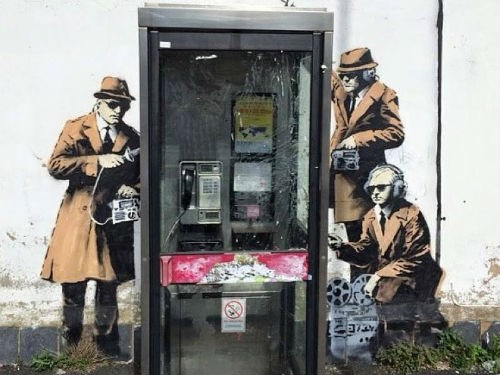 ICYMI: 'Banksy' sketches GCHQ, Heartbleed rumours & cloud confusion