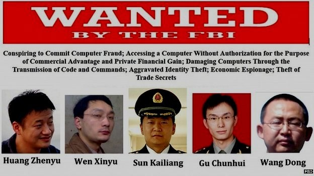 US puts China in dock over cyber espionage