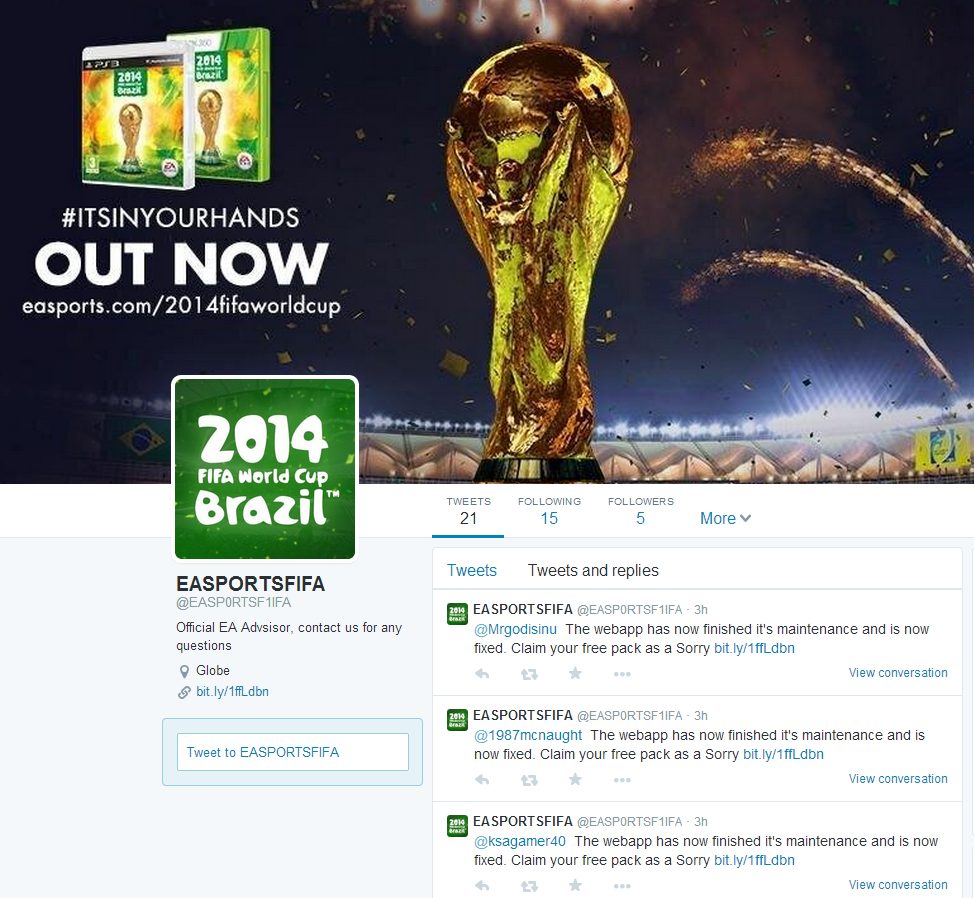 World Cup scammers use Twitter to steal gaming credentials
