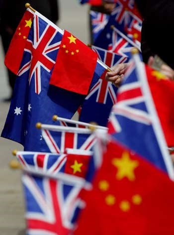 China takes cyber war to Australia