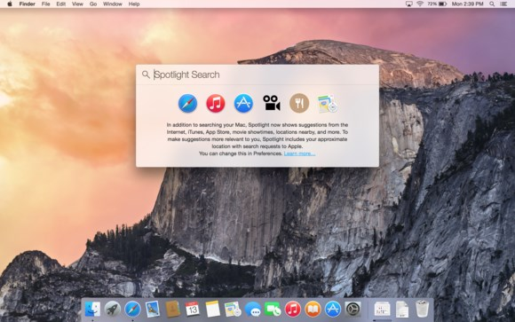Apple Mac OS criticised for sending search results to third parties