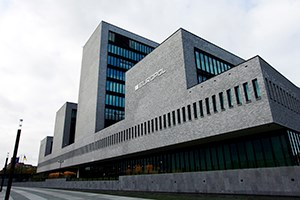 Europol HQ in The Hague, Netherlands