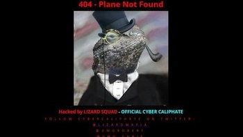 Malaysian Airlines website 'hacked by Lizard Squad'