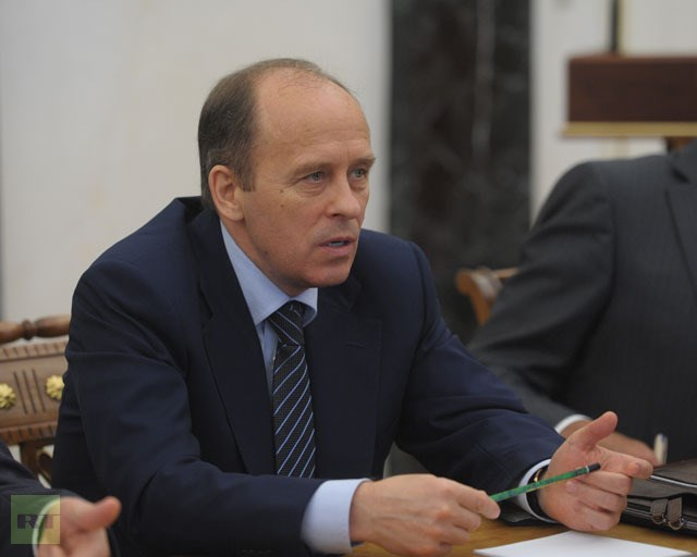 Alexander Bortnikov, head of the Russian Federal Security Service