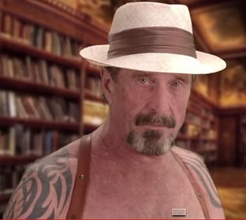 John McAfee warns of government and commercial surveillance