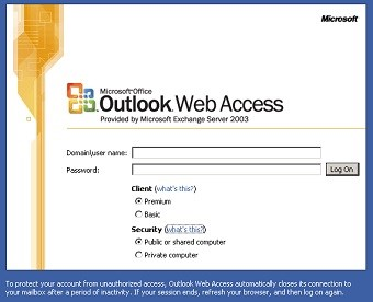 Backdoor in MS Outlook webmail raises security doubts