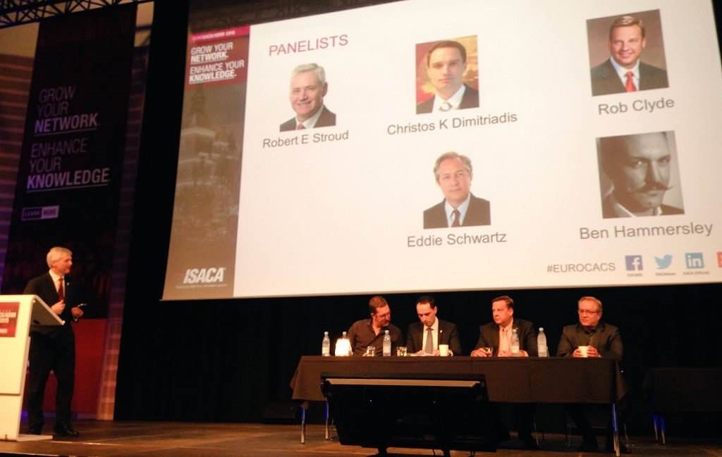 EuroCACS 2015 panel: Security implications and concerns with emerging and new technologies