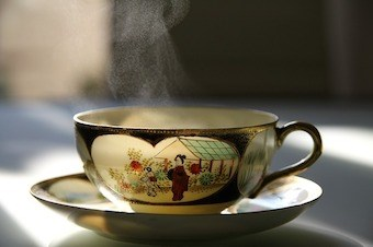 Tea cup: eye of the storm of just hot air?
