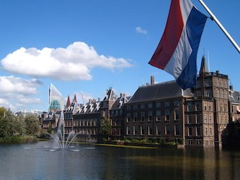 The Staten-Generaal, home of the Dutch Senate (Eerste Kamer) and the House of Representatives (Tweede Kamer) (Wikimedia)