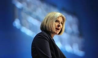 Theresa May: looking for cyber-security professionals to work for free