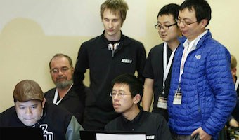 KeenTeam, one of the winning teams from last year's Pwn2Own (pic from Threatpost.com)