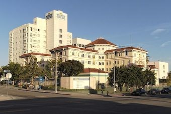 Hollywood Presbyterian Medical Center (Pic: Junkyardsparkle/Wikimedia)