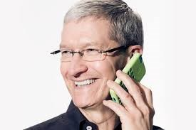 Tim Cook - opposes moves to access iphone data