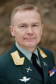 General Lt Morten Haga Lunde, head of the Norwegian intelligence
