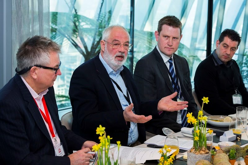A host of IT professionals convened at Central London's Sky Garden to talk about how they deal with their higher-ups