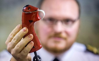 The final trigger used to launch a nuclear missile launch - Photo: Danny Lawson/PA
