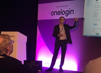 David Cahill speaking at Cloud Expo Europe