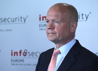 Rt Hon Lord Hague of Richmond at InfoSecurity Europe 2016