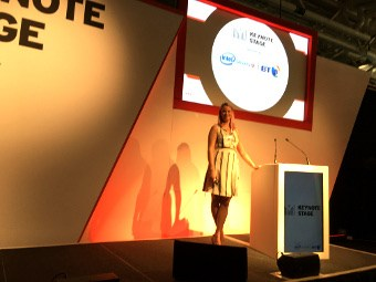 Dr Jessica Barker at InfoSecurity Europe 2016