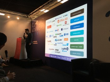 Nick Ioannou at Clouds and DevOps World 2016.