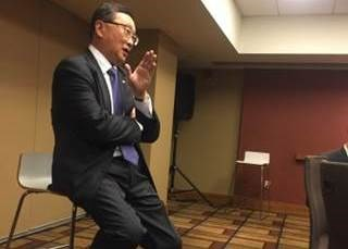 "BlackBerry Apple rumble: CEO John Chen said he found Apple's stance in the San Bernardino case ""disturbing"""