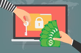 Cash if you get ransomware on your machine