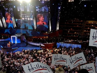 The disclosures from the breach have generated massive controversy around this week's Democratic National Convention (Qqqqqq via Wikimedia Commons)