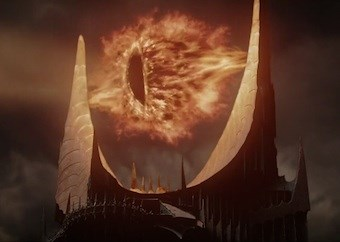 The all-seeing Eye of Sauron - Lord of the Rings